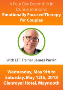 A Four Day Externship in Emotionally Focused Therapy for Couples - 9th-12th May, 2018